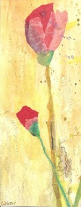 Rosa de Sant Jordi (Pintura de Cati Salazar)
