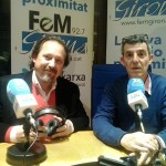 "Toni Subirana amb Eduard Cid al programa ""La tarda"" de La Xarxa."