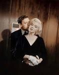 Yves Montand con Marilyn Monroe
