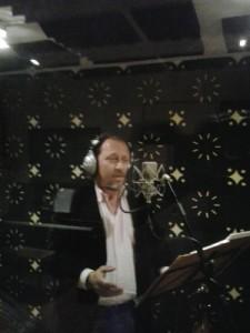 Toni Subirana en un moment de la gravació